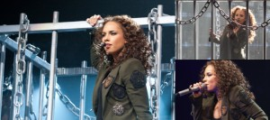 Alicia Keys (w/ Melanie Fiona) – Nokia Theater – Grand Prairie, TX