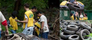 Trinity Forest Tire Cleanup – Dallas, TX