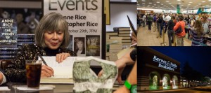 Anne Rice Book Signing – Barnes & Noble – Dallas, TX