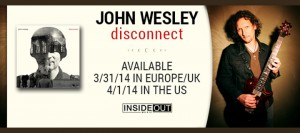 New Release: John Wesley 'Disconnect'…